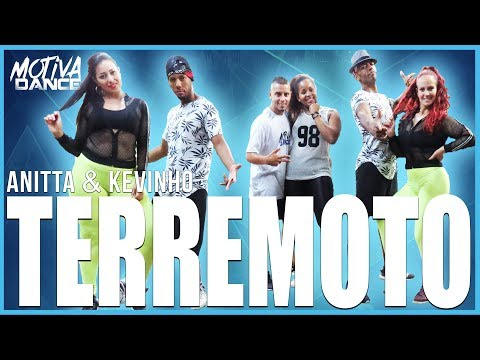 Terremoto - Anitta & Kevinho  Motiva Dance Coreografia