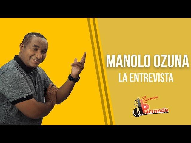 Manolo Ozuna espera ganar Soberano, habla de Cheddy Garcia, El Mañanero, El Boli y familia Salcedo