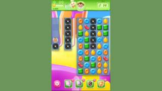 Candy Crush Jelly Level 194  -  no boosters