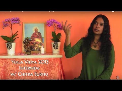 Yoga Vidya 2013 Interview W/ Chitra Sukhu (full Interview)