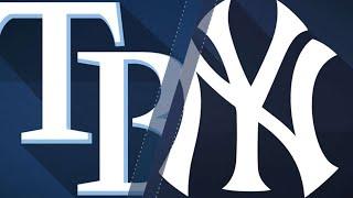 Yanks launch three home runs in win vs. Rays: 4/4/18