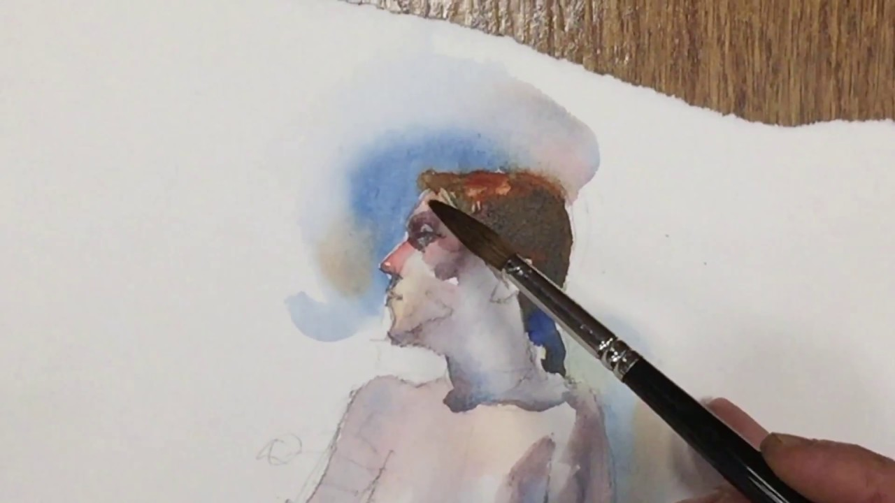 Painting Figures In Watercolor How To Images
