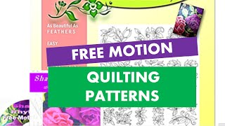 "New ""shadow Rhythms"" Free Motion Machine Quilting Patterns Are A Big Hit"