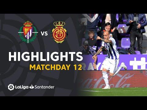 Highlights Real Valladolid vs RCD Mallorca (3-0)
