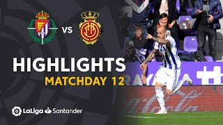 Highlights Real Valladolid vs RCD Mallorca (3-0)