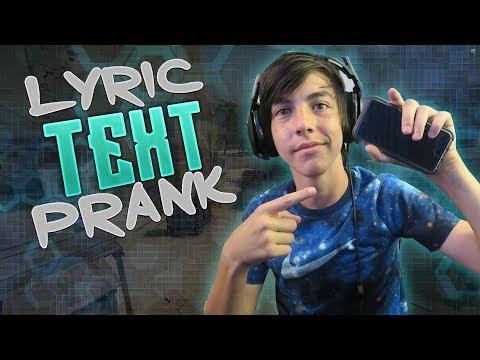 Text Lyric Prank On Bestfriend! 1-800-273-8255 - Logic