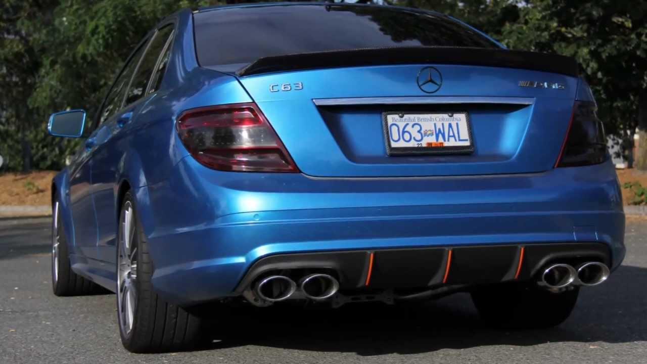 Mw Studios Vancouver Car Wrapping Mercedes C63 Agency