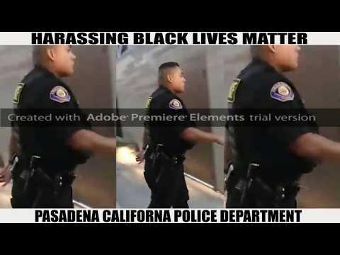 Arrested & harassed  Pasadena PD targets BLM Pasadena founder again. Jasmine Richards  090917