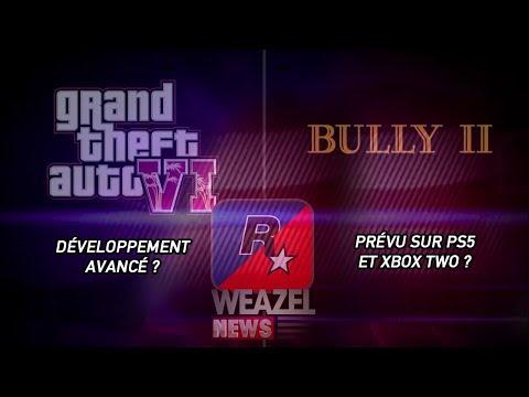 GTA 6 EN STADE AVANCÉ ? BULLY 2 SUR PS5 ET XBOX TWO ? - WEAZEL NEWS
