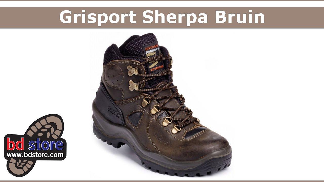 637d6f1d5e8 Wandelschoenen Grisport Sherpa Bruin - YouTube