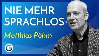 Schlagfertig: So konterst du immer mit Erfolg // Matthias Pöhm