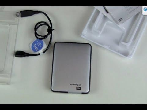 WD 4TB externe Festplatte My Passport Unboxing und erst ...