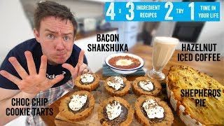 4 x 3 Ingredient recipes 2 try 1 time in your life! Part 7