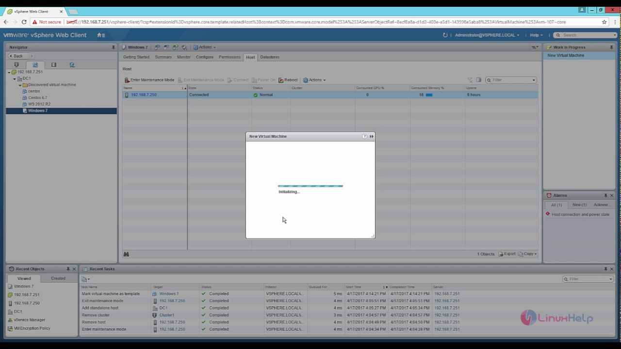 How to create VM template in VMware vSphere - YouTube