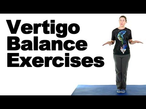 Vertigo Balance Exercises Ask Doctor Jo Youtube