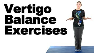Vertigo Balance Exercises - Ask Doctor Jo