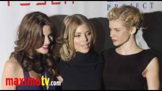 AnnaLynne McCord, Rachel McCord and Angel McCord on the Red Carpet Oct 9, 2010