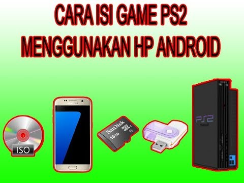 Cara Isi Game Ps 2 Ke Flashdisk - YouTube