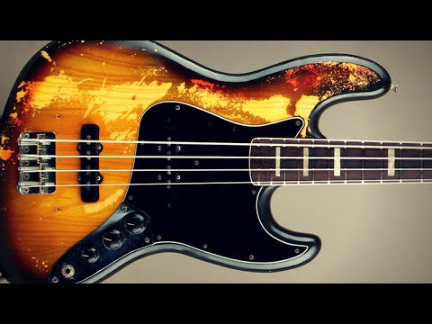 Funky Bass Backing Track (Am)
