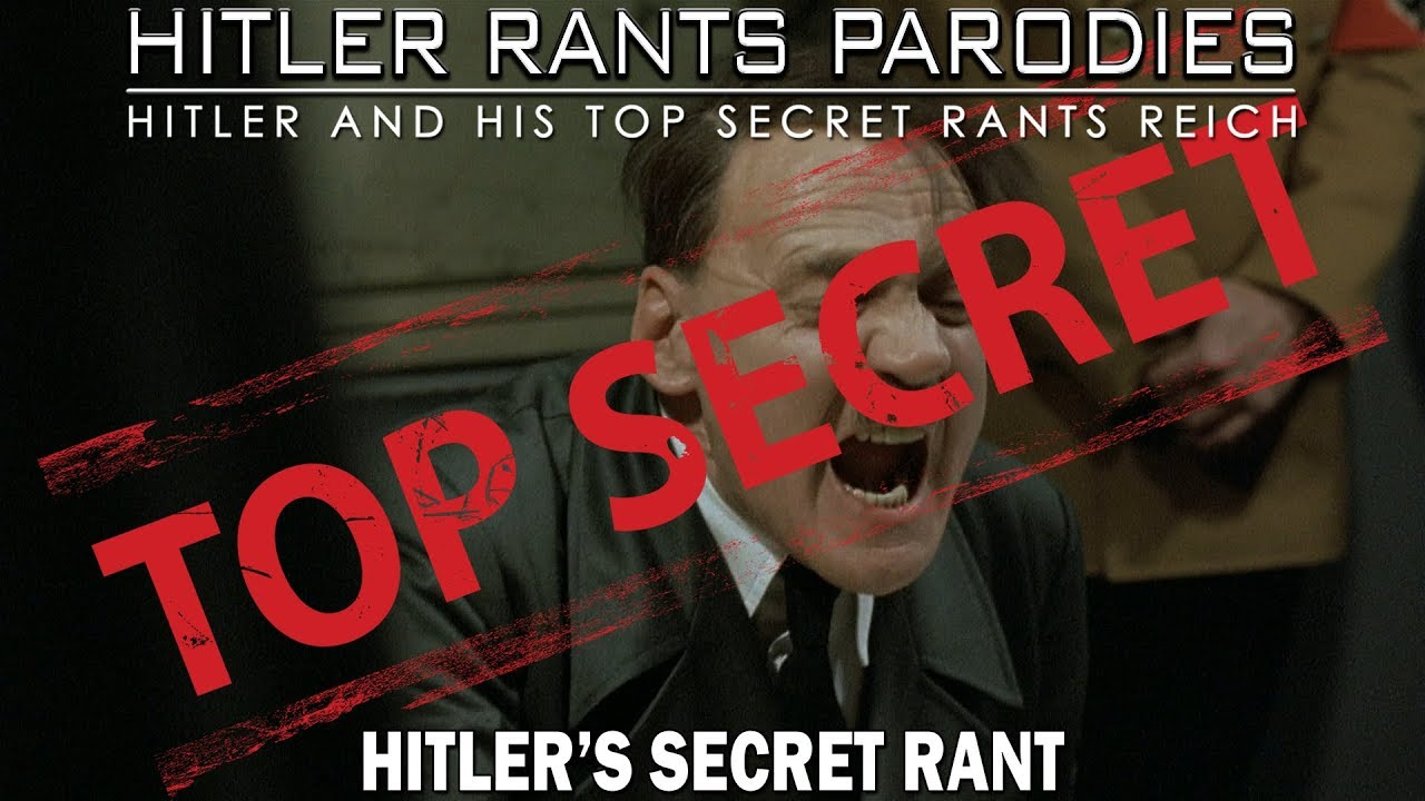 Hitler's secret rant