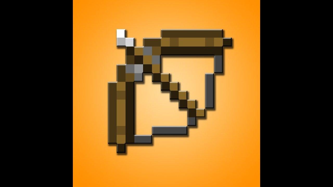 minecraft comment faire un arc et des fl ches youtube. Black Bedroom Furniture Sets. Home Design Ideas