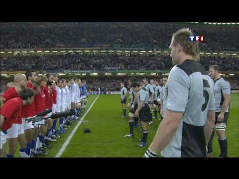Rugby World Cup 2007 :   France New Zealand french commentary