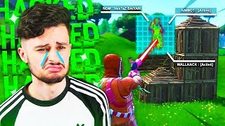 I TOMBE TO THE PIRE HACKER ON FORTNITE! I'M CRYING... 😪