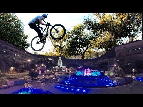 MTB Street in LA Downtown & Dirt Jump in MX Park Milestone, Kalifornien | Fabio Schäfer Vlog #126