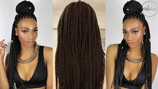 One of estareLIVE's most viewed videos: HAIR | I GET BOX BRAIDS!! | EBONY B SALON