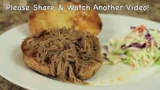 Pulled Pork Sandwich Recipe By Rockin Robin