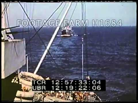 North Africa, Sicilian Invasion, Naval Activity H1684-03.mp4 | Footage Farm