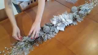 Centro de mesa de Natal fácil – Arranjo para mesa posta