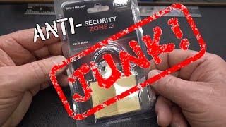 (1412) (Anti) Security Zone Padlock