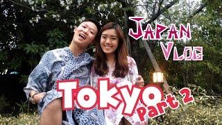 Japan Vlog: Tokyo Part 2 | Hedgehog Cafe, Oedo Onsen, Ichiran Ramen & Gyukatsu Motomura