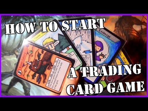 How To Start Making a Homemade TCG