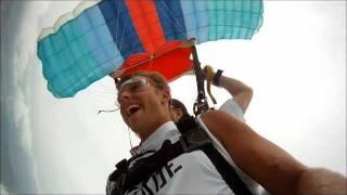 Daniel Kirby has his adrenaline kick with a skydive at Skydive Kentucky!
