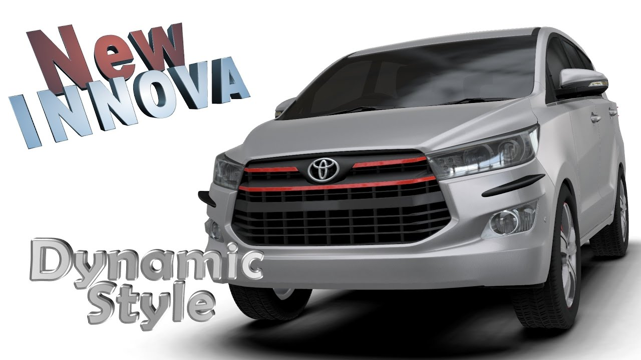 All New Kijang Innova Reborn Reset Ecu Grand Avanza Aerokitz Aksesoris Modifikasi Toyota Dynamic Style