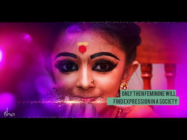 Let the Feminine Flow - Sadhguru on Womens Day
