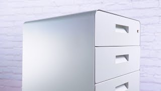 3 Drawer File Cabinet, Rolling By UPLIFT Desk