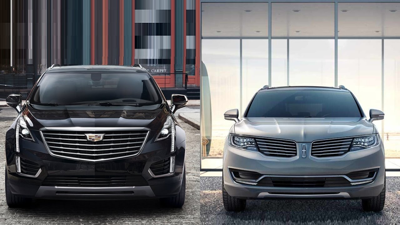 2017 Cadillac Xt5 vs 2016 Lincoln MKX - YouTube