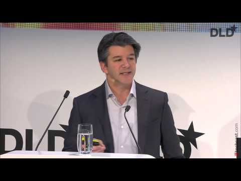 Uber and Europe: Partnering to Enable City Transformation I (Travis Kalanick, CEO at Uber) | DLD15