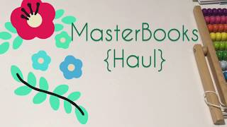 Masterbooks Homeschool Book {HAUL}