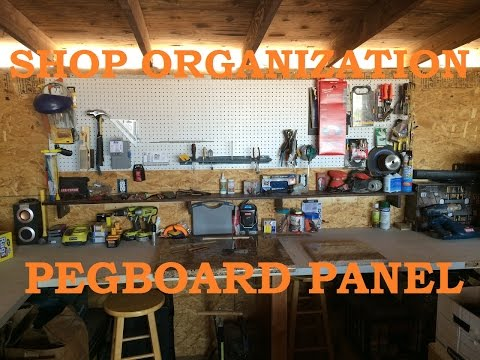 how to make a gym pegboard