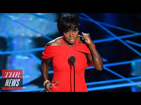 Thumbnail: Viola Davis, First-Time Winner, Delivers Powerful Acceptance Speech for 'Fences' | Oscars 2017
