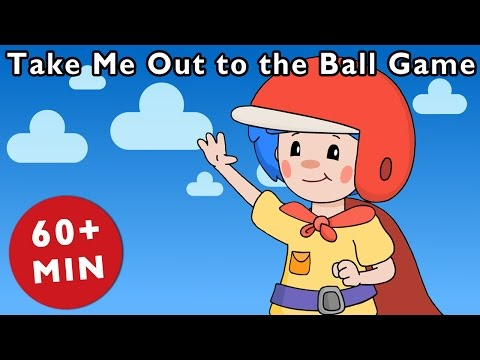 Take Me Out to the Ball Game | Nursery Rhymes from Mother Goose Club!