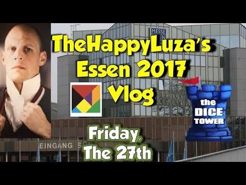 TheHappyLuza Essen Vlog Friday 27th