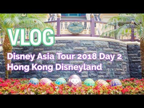 VLOG: Disney Asia Tour - Day 2 (Hong Kong Disneyland)