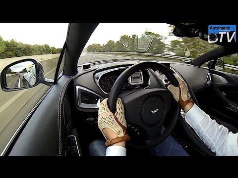 2013 Aston Martin Vanquish (573hp) - FAST Autobahn ride (1080p)
