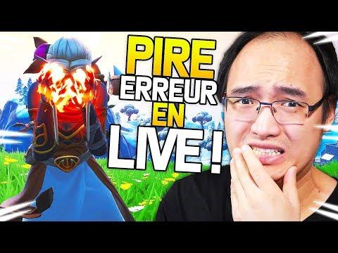 MA PIRE ERREUR EN LIVE !