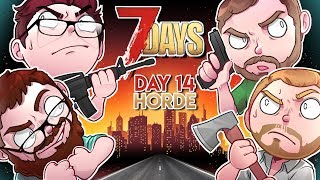 7 Days to Die Modded - Day 14 HORDE, WE WILL SURVIVE?! (Ravenhearst Mod Part 19)